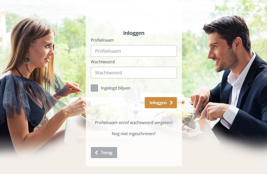 De Smart Singles homepage
